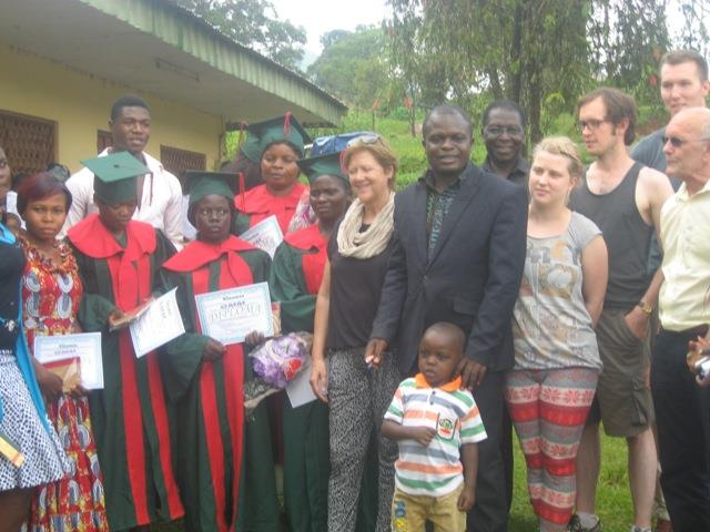 gmmafrica graduation, cameroon, graduates 2015 19