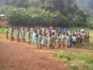 Children at the primary school Jinkfuin