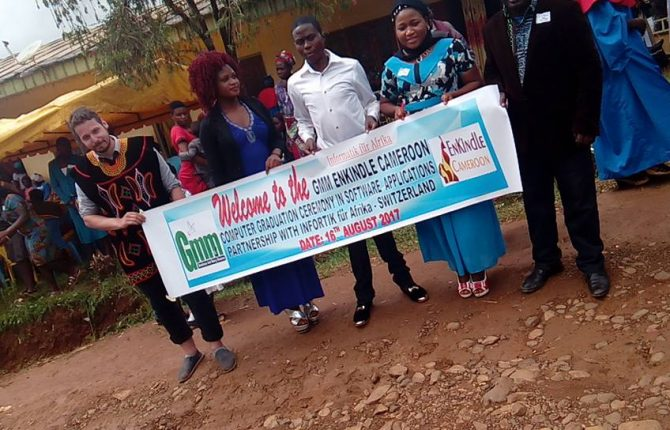 GMM EnKindle Cameroon graduation 2017 2